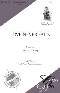 Love Never Fails | 20-95610