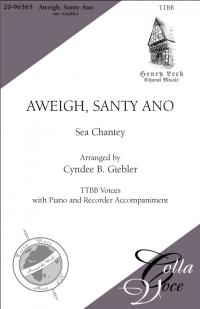 Aweigh, Santy Ano TTBB   20-96365