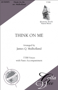 Think On Me TTBB | 20-96905