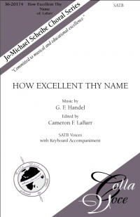 How Excellent Thy Name | 36-20174