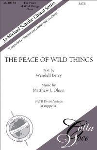 Peace of Wild Things, The    36-20184